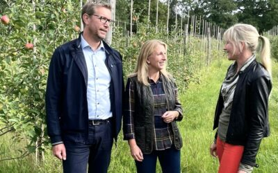 Stora Bryne Vin & Trädgård ny delägare i Foodchain by Blockchain!